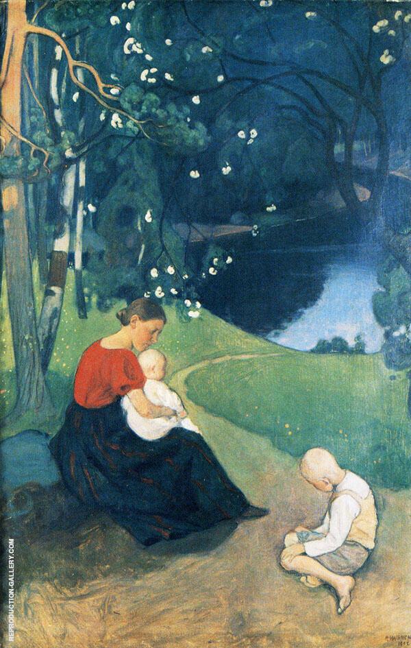 Tuonen Lehto 1902 By Pekka Halonen
