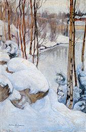 Winter 1910 By Pekka Halonen