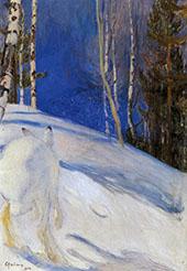 Winter Day 1895 By Pekka Halonen