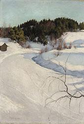 Winter Landscape 1896 By Pekka Halonen