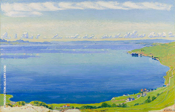Lake Geneva from Chexbres 1904 By Ferdinand Hodler