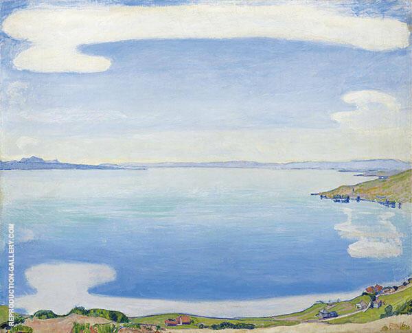 Lake Geneva from Chexbres 1905 By Ferdinand Hodler