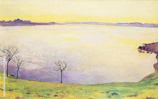 Lake Geneva from Chexbres 1911 By Ferdinand Hodler