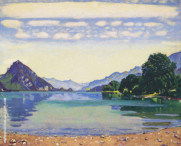 Lake Thun from Leissigen 1904 By Ferdinand Hodler