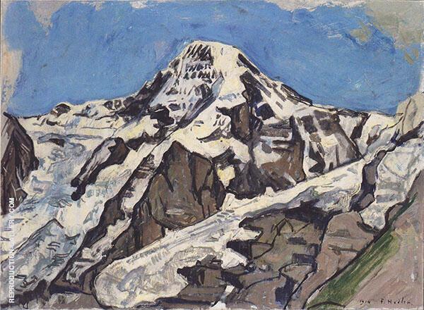 Monch 1914 By Ferdinand Hodler