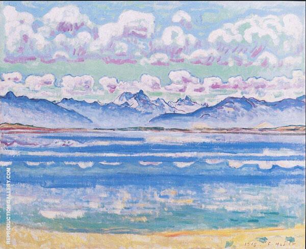 Weisshorn from Montana 1915 By Ferdinand Hodler