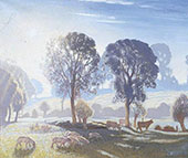 Misty Morning By Sir George Clausen