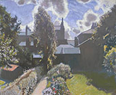 My Back Garden c1940 By Sir George Clausen