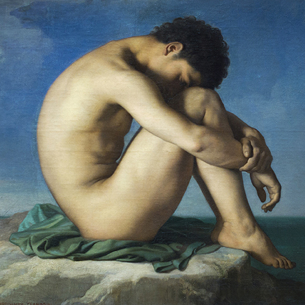 Oil Painting Reproductions of Jean Hippolyte Flandrin