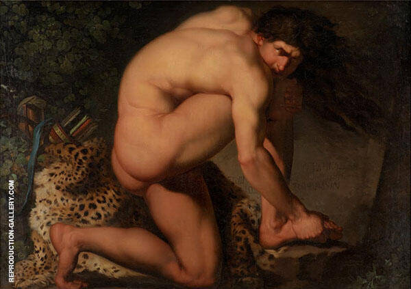 The Wounded Philotectes 1775 By Nicolai Abildgaard