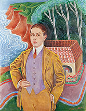 Portrait of Rolf de Mare c1910 By Nils Dardel