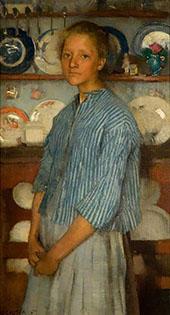 Normandy Peasant 1887 By Sir George Clausen