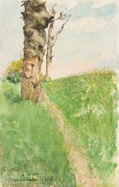 Path beside a Knarled Tree By Sir George Clausen