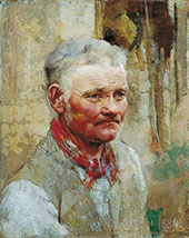 The Miller's Man By Sir George Clausen