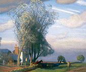 Willow Tree Farm By Sir George Clausen