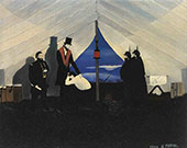 Abe Lincoln The Great Emancipator 1942 By Horace Pippin
