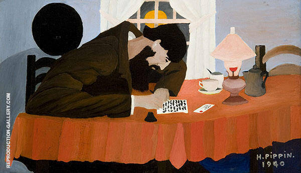 Amish Letter Writer 1940 By Horace Pippin