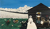Cabin in The Cotton IV 1944 By Horace Pippin