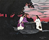 Christ and The Woman of Samaria 1940 By Horace Pippin