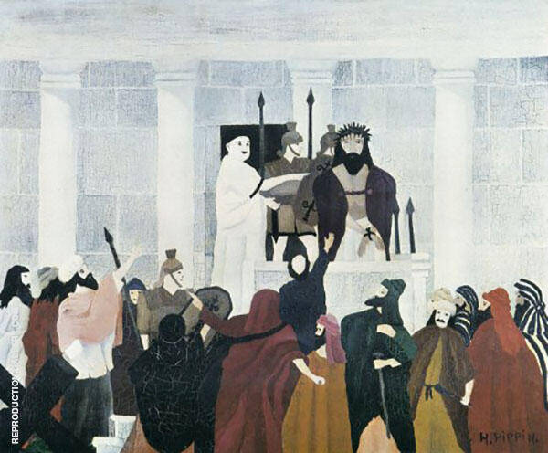 Christ Before Pilate 1941 By Horace Pippin