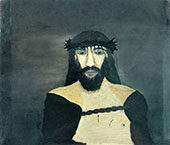 Christ Crowned with Thorns 1938 By Horace Pippin