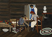 Giving Thanks 1942 By Horace Pippin