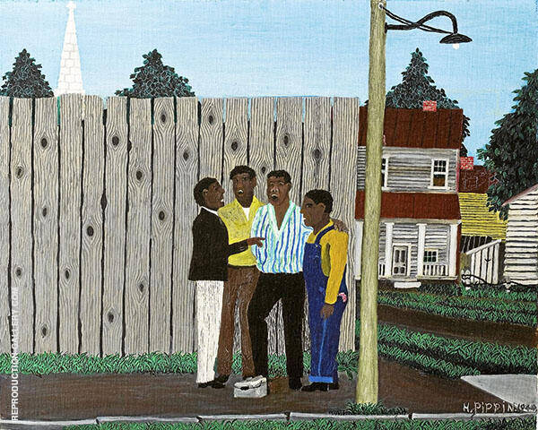 Harmonizing 1944 By Horace Pippin