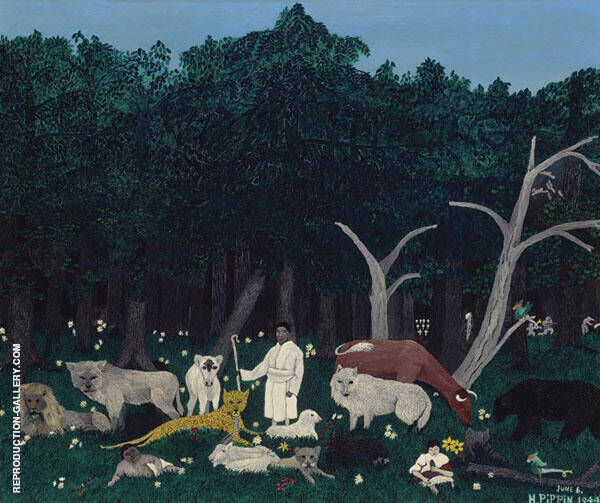 Holy Mountain I By Horace Pippin