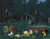 Holy Mountain II 1944 By Horace Pippin