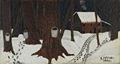 Maple Sugar Season 1941 By Horace Pippin