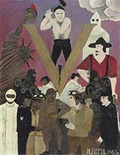 Mr Prejudice 1943 By Horace Pippin