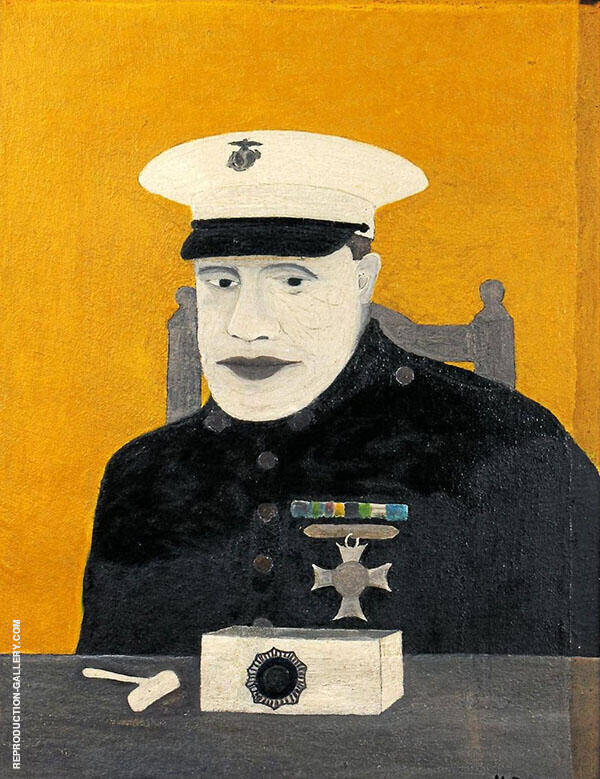 Paul B.Dague Deputy Sheriff of Chester Country c1937 By Horace Pippin