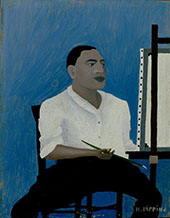 Self Portrait 1941 By Horace Pippin