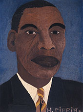 Self Portrait I 1944 By Horace Pippin