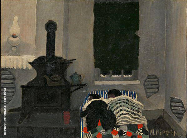 Sleepers Painting By Horace Pippin - Reproduction Gallery