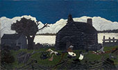 Cabin in The Cotton 1930 By Horace Pippin