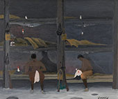 The Barracks 1945 By Horace Pippin