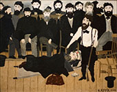 The Trial of John Brown 1942 By Horace Pippin