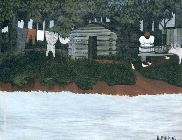 The Wash 1940 By Horace Pippin