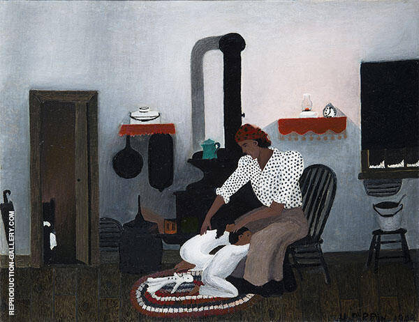 The Way I See it Painting By Horace Pippin - Reproduction Gallery