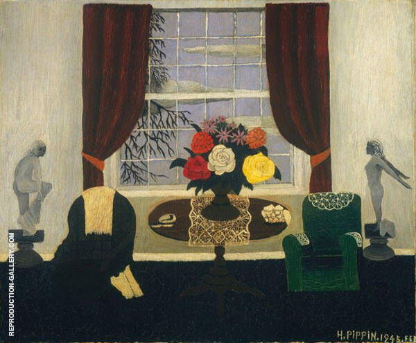 Victorian Interior I 1945 Painting By Horace Pippin - Reproduction Gallery