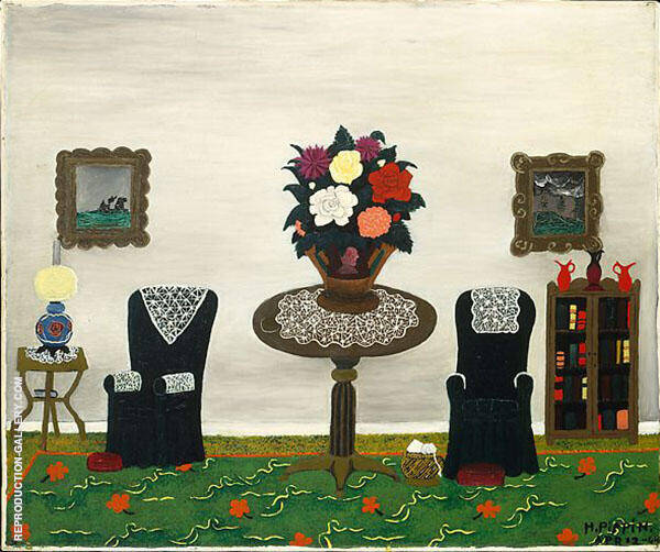 Victorian Interior II 1945 Painting By Horace Pippin