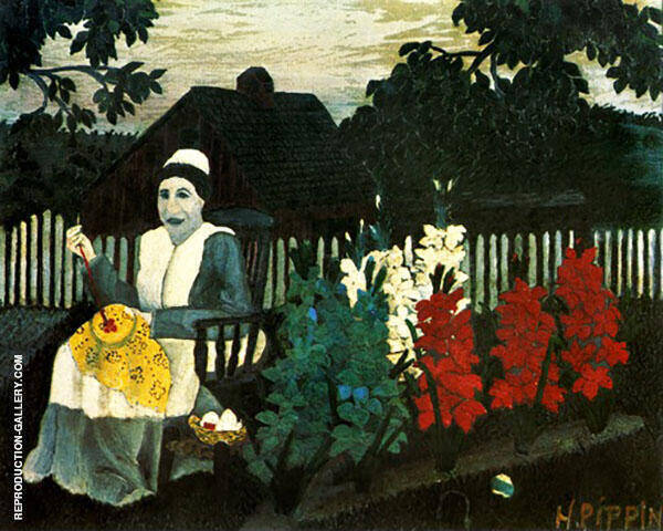 Victory Garden 1943 Painting By Horace Pippin - Reproduction Gallery