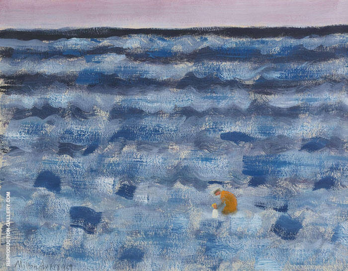 small figures By Milton Avery