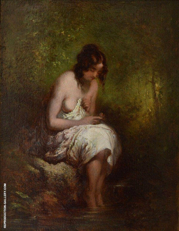Female Nude By William Etty