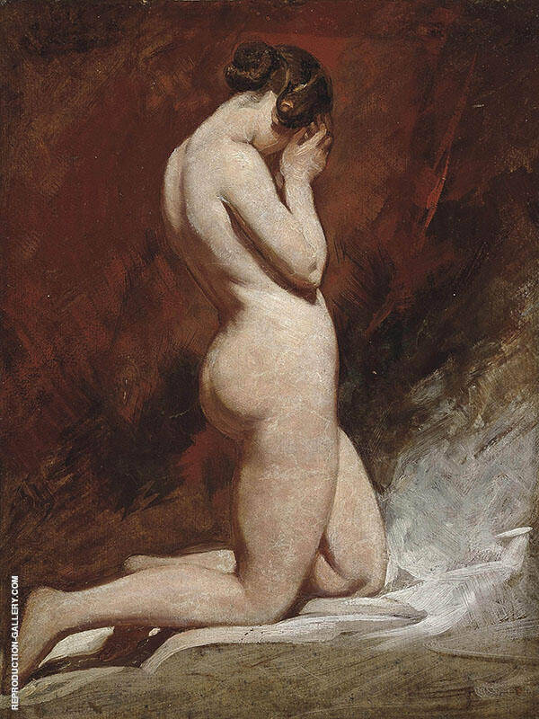 Kneeling Nude By William Etty