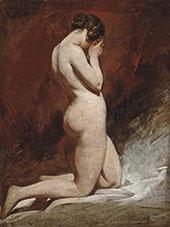 Kneeling Nude By William Etty