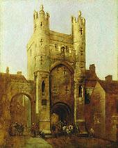 Monk Bar York 1838 By William Etty
