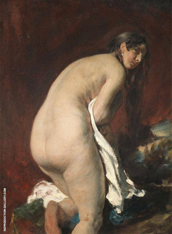 Nude By William Etty