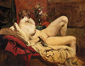 Reclining Nude By William Etty